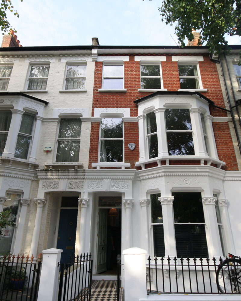 W6 - Hammersmith - Timber Sash Windows and Entry Door - Terraced House