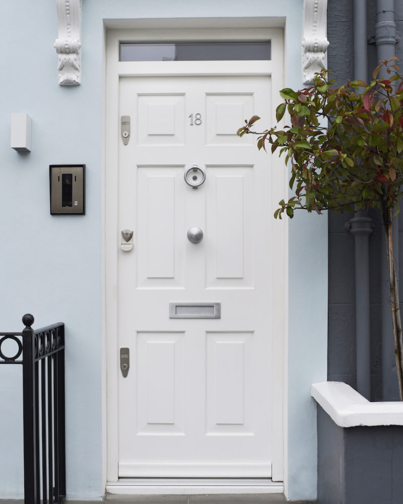 SW3 - Chelsea - Bespoke Timber Entry Door and Windows