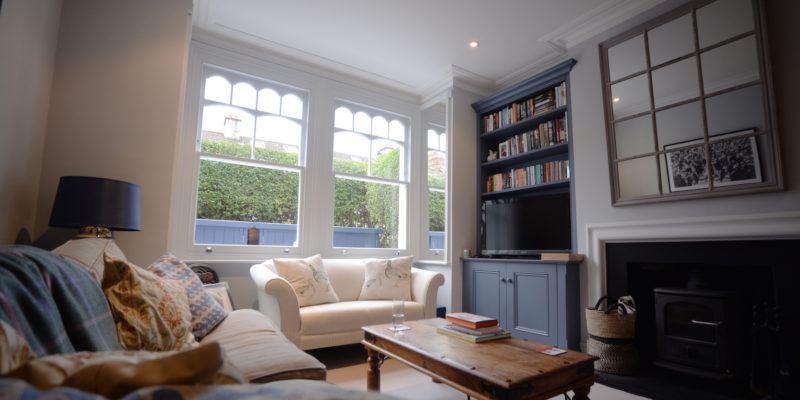 SW14 - Richmond - Timber Feature Sash Windows - House 2