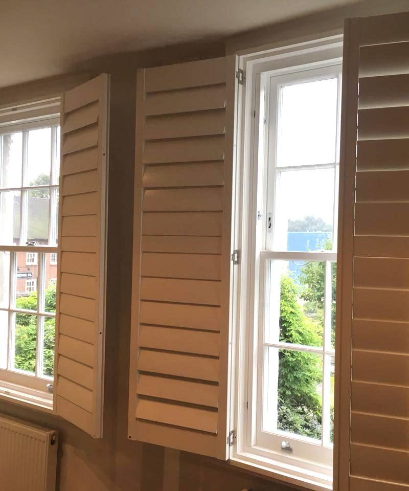 SW8 - Battersea - Timber Sash Windows and Plantation Shutters